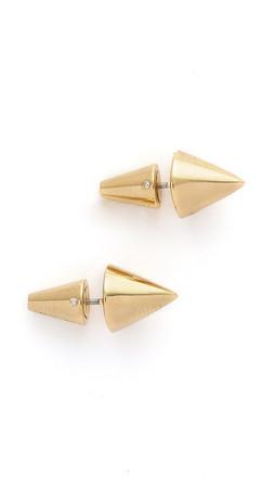 Eddie Borgo Cone Stud Earrings - Gold