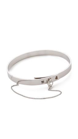 Eddie Borgo Small Safety Chain Choker - Silver