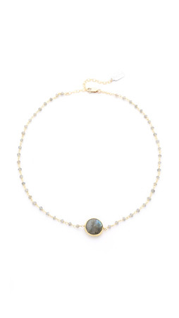 Ela Rae Libi Two Necklace - Labradorite