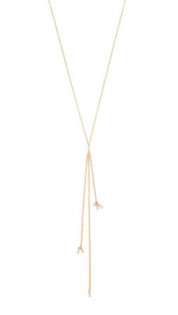 Ela Rae Nelli Necklace - Gold/Pearl