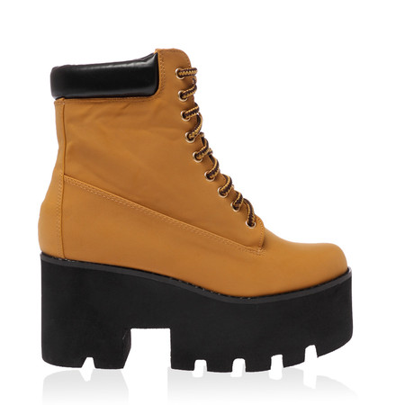 Eliza Honey Brown Ankle Boots