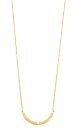 Elizabeth And James Ando Necklace - Gold