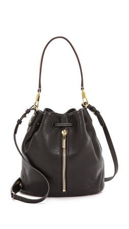 Elizabeth And James Cynnie Mini Bucket Bag - Black
