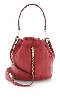 Elizabeth And James Cynnie Mini Bucket Bag - Red Clay