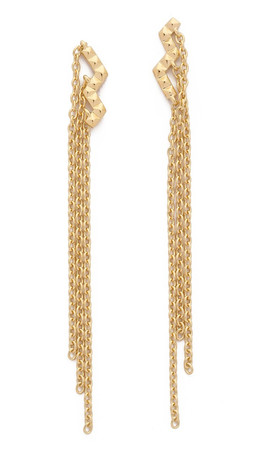Elizabeth And James Erte Earrings - Gold