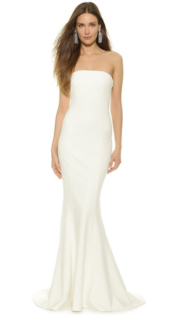 Elizabeth And James Kendra Gown - Ivory