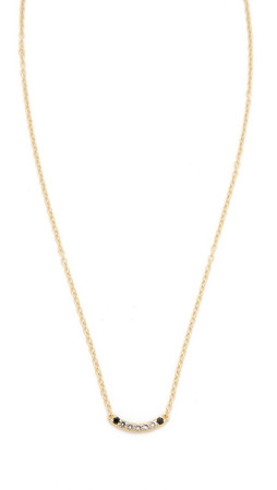 Elizabeth And James Klint Necklace - Clear/Gold