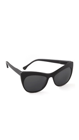 Elizabeth And James Lafayette Cat Eye Sunglasses - Black