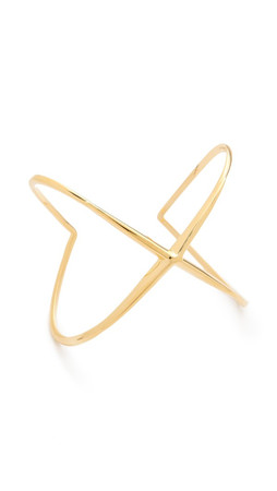 Elizabeth And James Northern Star Cuff Bracelet - Gold