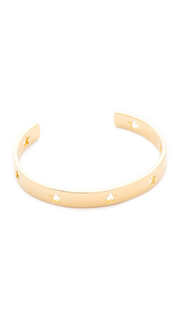 Elizabeth And James Polaris Cuff Bracelet - Gold