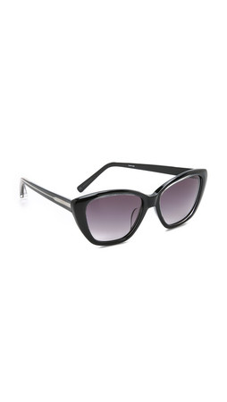 Elizabeth And James Smith Sunglasses - Crystal Black/Black