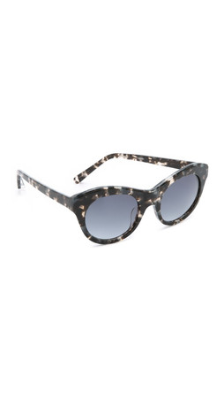 Elizabeth And James Suffolk Sunglasses - Smoke Tort/Blue Gradient