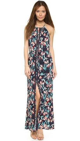 Ella Moss Floradita Maxi Dress - Indigo