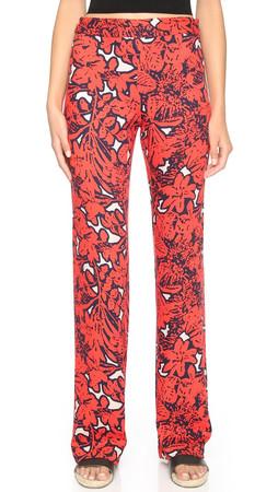 Ella Moss Jungle Floral Pants - Tigerlilly