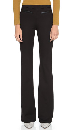 Ella Moss Lovelean Wide Leg Pant - Black