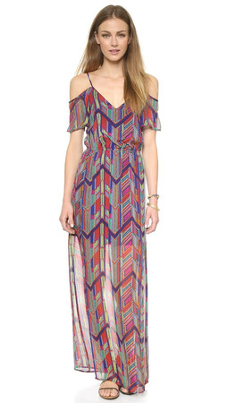 Ella Moss Mazatlan Maxi Dress - Rojo