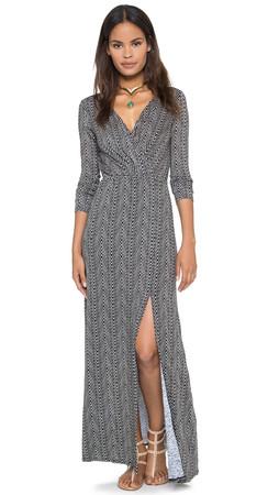 Ella Moss Nairobi Maxi Dress - Black