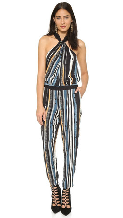 Ella Moss Rainforest Jumpsuit - Black