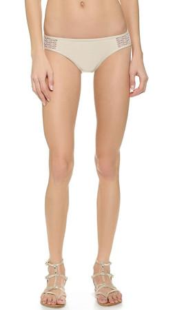 Ella Moss Retro Bikini Bottoms - Cream