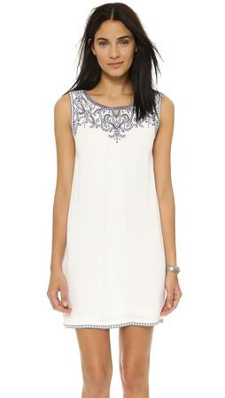 Ella Moss Rica Mini Dress - White