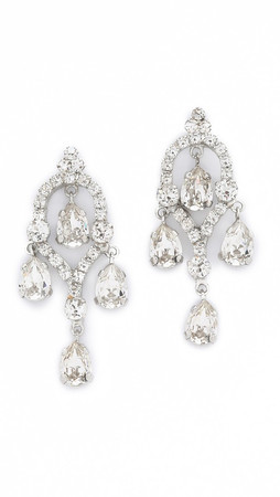 Erickson Beamon Erickson Beamon I Do Drop Earrings - Clear