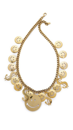 Erickson Beamon Have A Nice Day Necklace - Gold