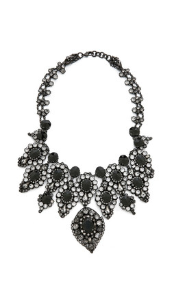 Erickson Beamon Hello Sweetie Necklace - Black Multi