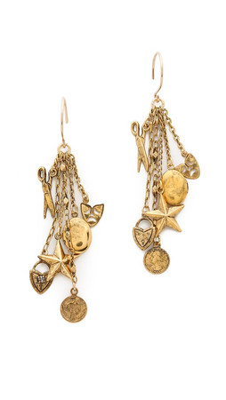 Erickson Beamon My Beloved Earrings - Gold