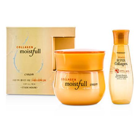 Etude House Moistfull Collagen Cream 60ml + Moistfull Super Collagen Ampoule Essence 20ml 2pcs