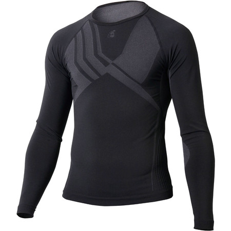 Etxeondo Epela Long Sleeve Base Layer - S/M Black | Base Layers