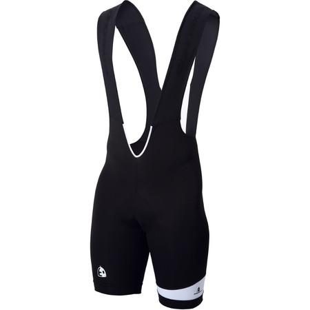 Etxeondo Feather Bib Shorts - XXXL Black | Lycra Cycling Shorts