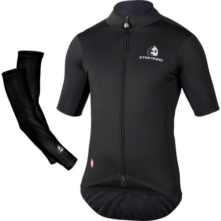 Etxeondo Team Edition Windstopper Jersey and Arm Warmers - XXXL