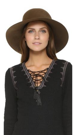 Eugenia Kim Blake Hat - Pecan