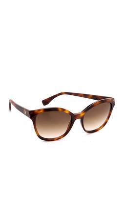 Fendi Classic Sunglasses - Havana/Brown Gradient