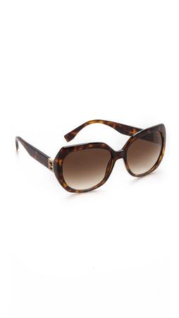 Fendi Glam Sunglasses - Havana/Brown Gradient
