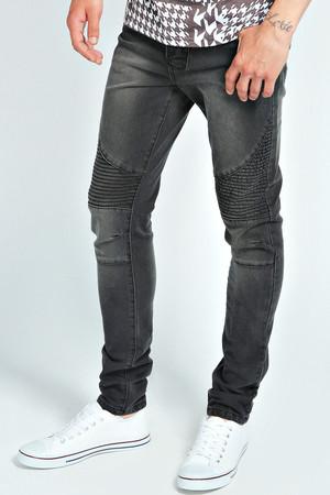 Skinny Style Biker - black