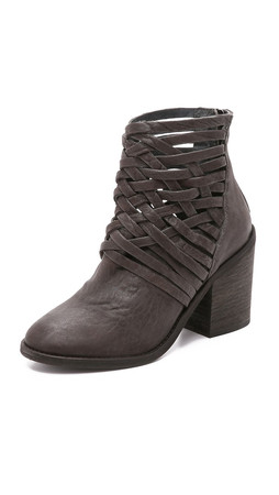 Free People Carrera Heel Boots - Slate