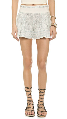 Free People Heart It Shorts - Ivory Combo