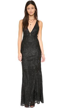 Free People Juliet Bodycon Dress - Black