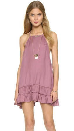 Free People Raven Slip Dress - Dusty Rose