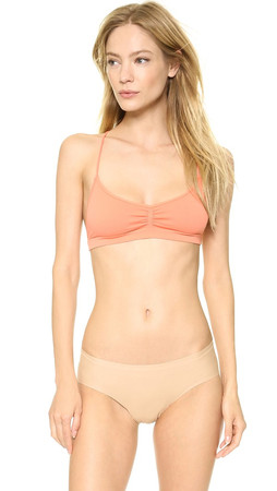 Free People Strappy Bra - Peach