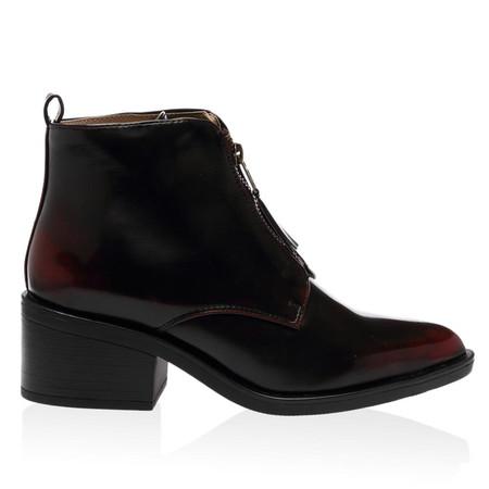 Fritha Bordeaux Ankle Boots