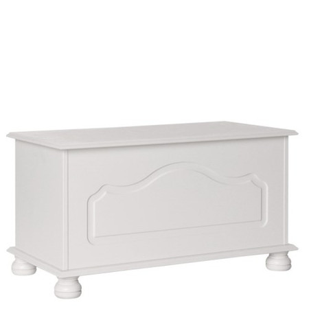 Furniture To Go Copenhagen Blanket Box In White