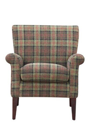 GFA Balmoral Armchair in Moss