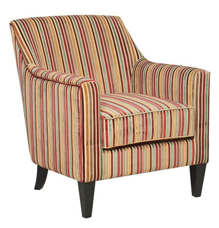 GFA Bloomsbury Armchair in Candy Stripe