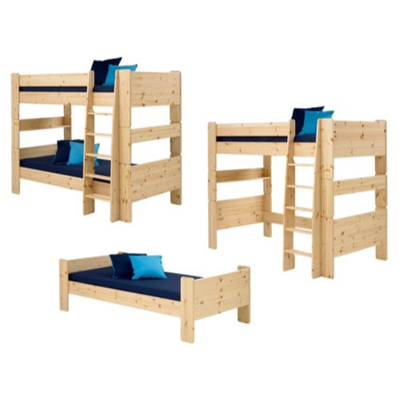 GRADE A1 - Steens  For Kids Extension Kit - Bunk To Single And High Sleeper In Pine