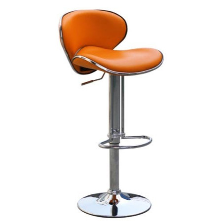 GRADE A1 - Wilkinson Furniture Nigella Bar Stool in Orange - As New