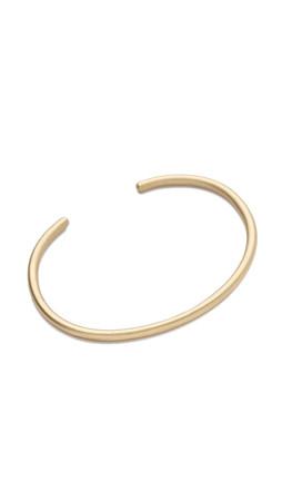 Gabriela Artigas Delicate Bracelet Cuff - Yellow Gold