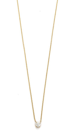Gabriela Artigas Master Diamond Necklace - Clear/Gold