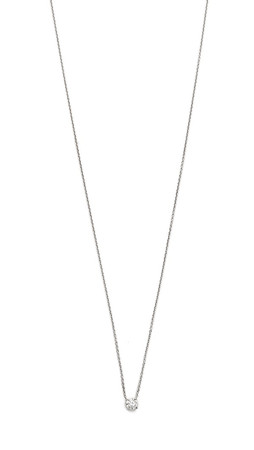 Gabriela Artigas Master Diamond Necklace - Clear/White Gold